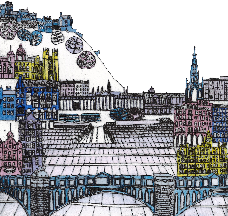 Edinburgh illustration